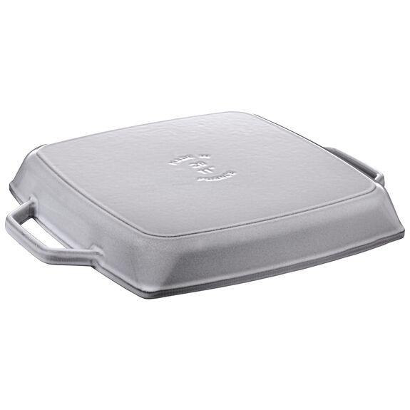 11-inch Double Handle Grill Pan - Graphite Grey,,large 2
