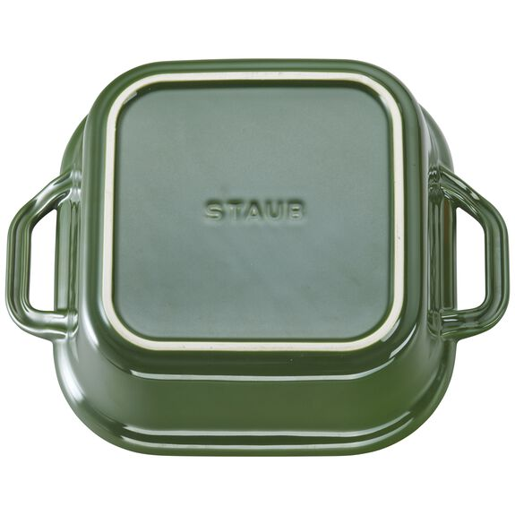 9-inch x 9-inch Square Covered Baking Dish, Basil, , large 3