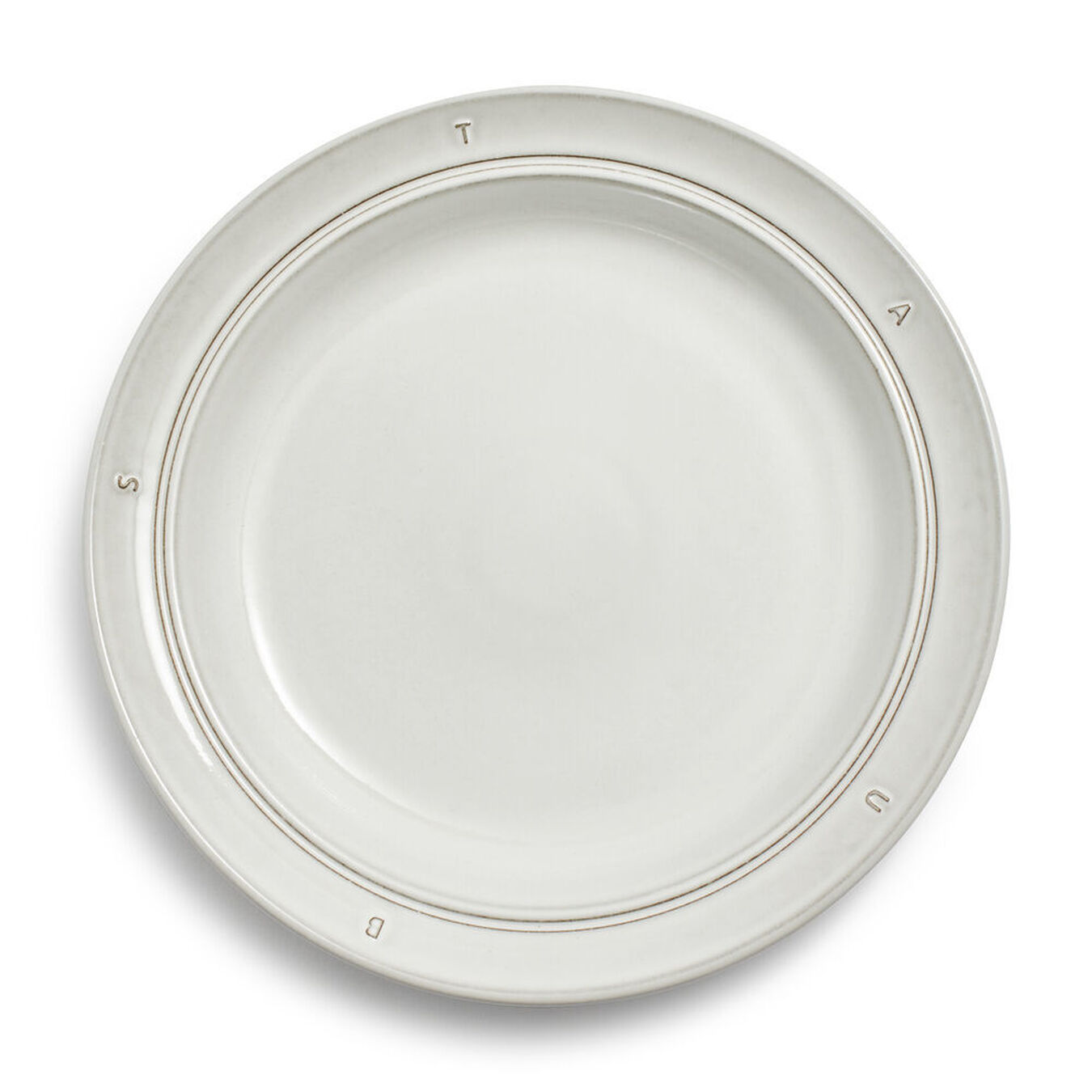 "Ceramic Soup Plate 24cm / 9.5"" - Off White,,large 1"