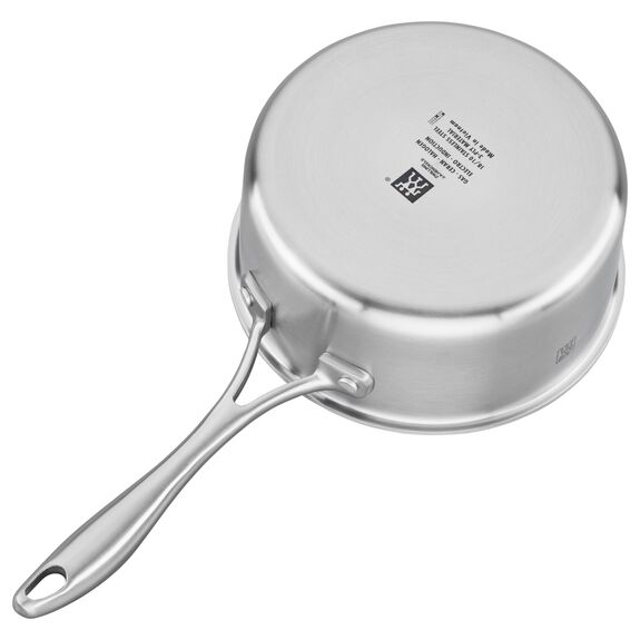 3-ply 2-qt Stainless Steel Saucepan,,large