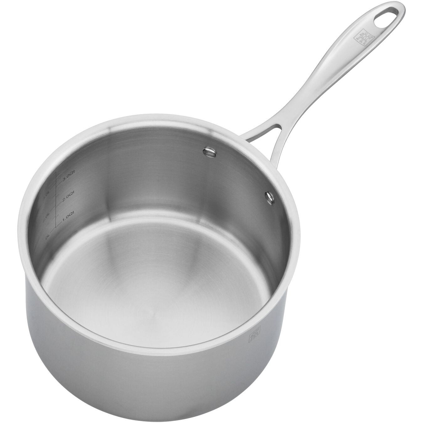 3-ply 4-qt Stainless Steel Saucepan,,large 3