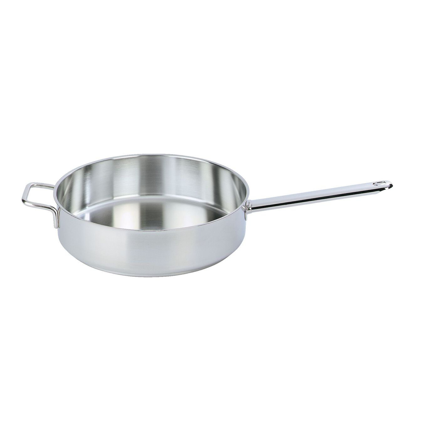 Sauteuse without lid 28 cm, Inox 18/10,,large 1
