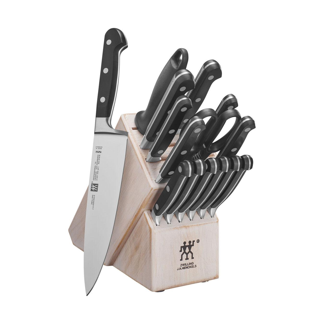 10-pc, Knife block set, rustic white,,large 2