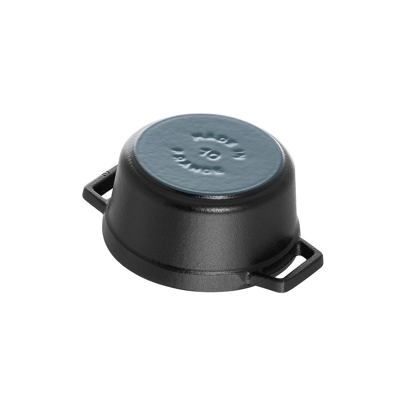 Mini poêle à frire 10 cm / 250 ml, Rond, Noir,,large 5
