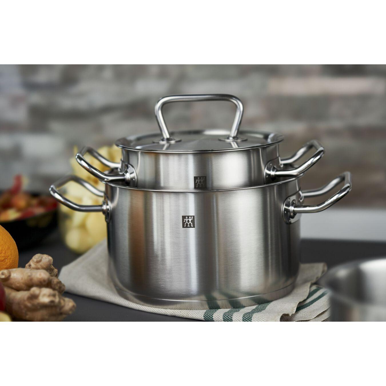 Ensemble de casseroles 4-pcs, Inox 18/10,,large 3