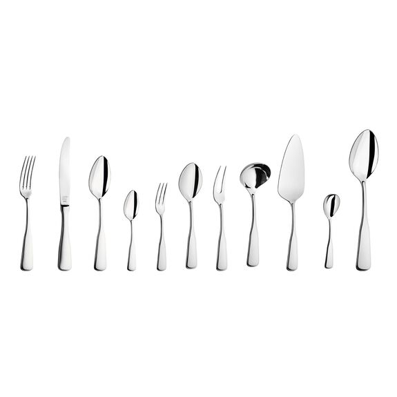 Çatal Kaşık Bıçak Seti, 68-parça   Parlak,,large 5