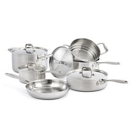 ZWILLING Sol II, 10 Piece 18/10 Stainless Steel Cookware set