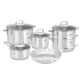 ZWILLING Quadro, 10 Piece 18/10 Stainless Steel Cookware set