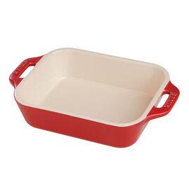 Staub Ceramics, 5.5-inch x 4-inch Rectangular Baking Dish - Cherry