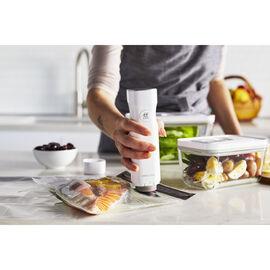 ZWILLING Fresh & Save, Vakuum Starterset, 7-tlg, Borosilikatglas, Weiß