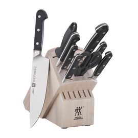 ZWILLING Pro, 10-pc, Knife block set, white