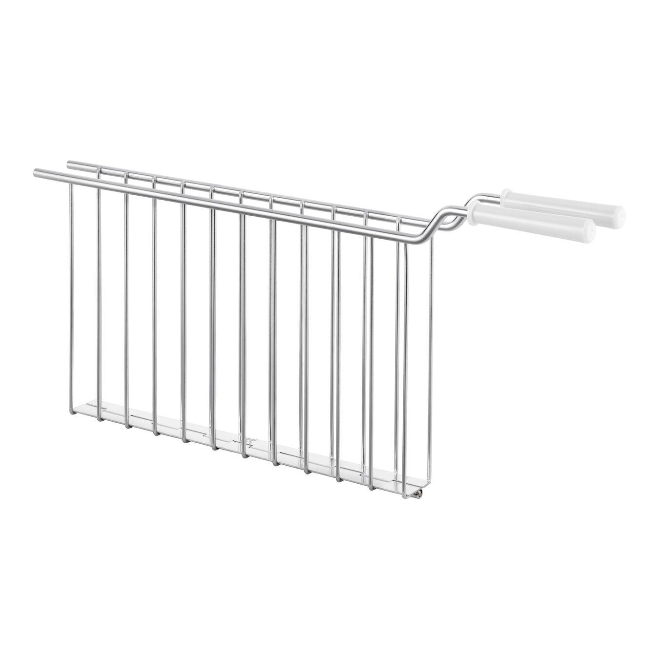 Sandwich rack, 2 long slots | white,,large 1