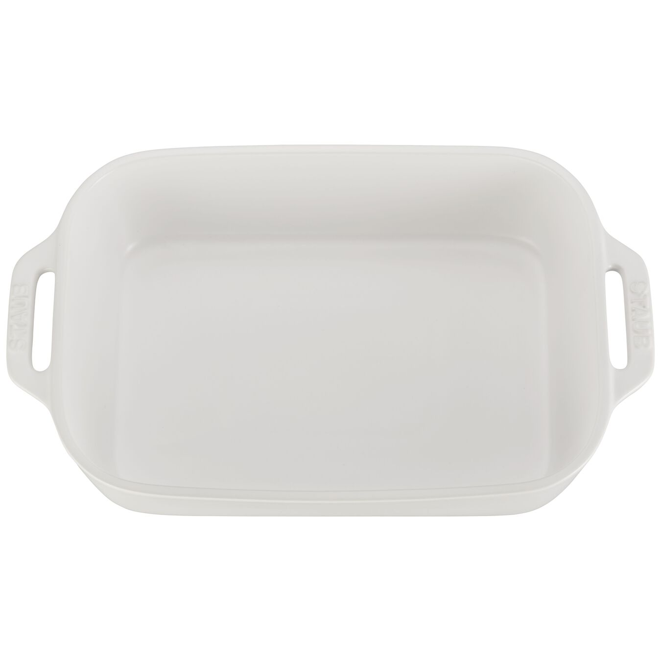 2-pc Rectangular Baking Dish Set - Matte White,,large 4