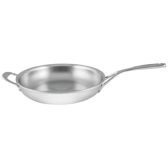 11-inch 18/10 Stainless Steel Frying pan,,large
