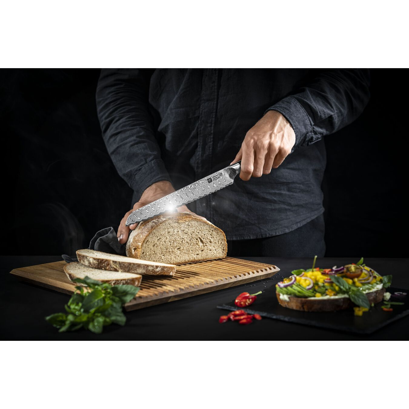 9 inch Bread knife,,large 3