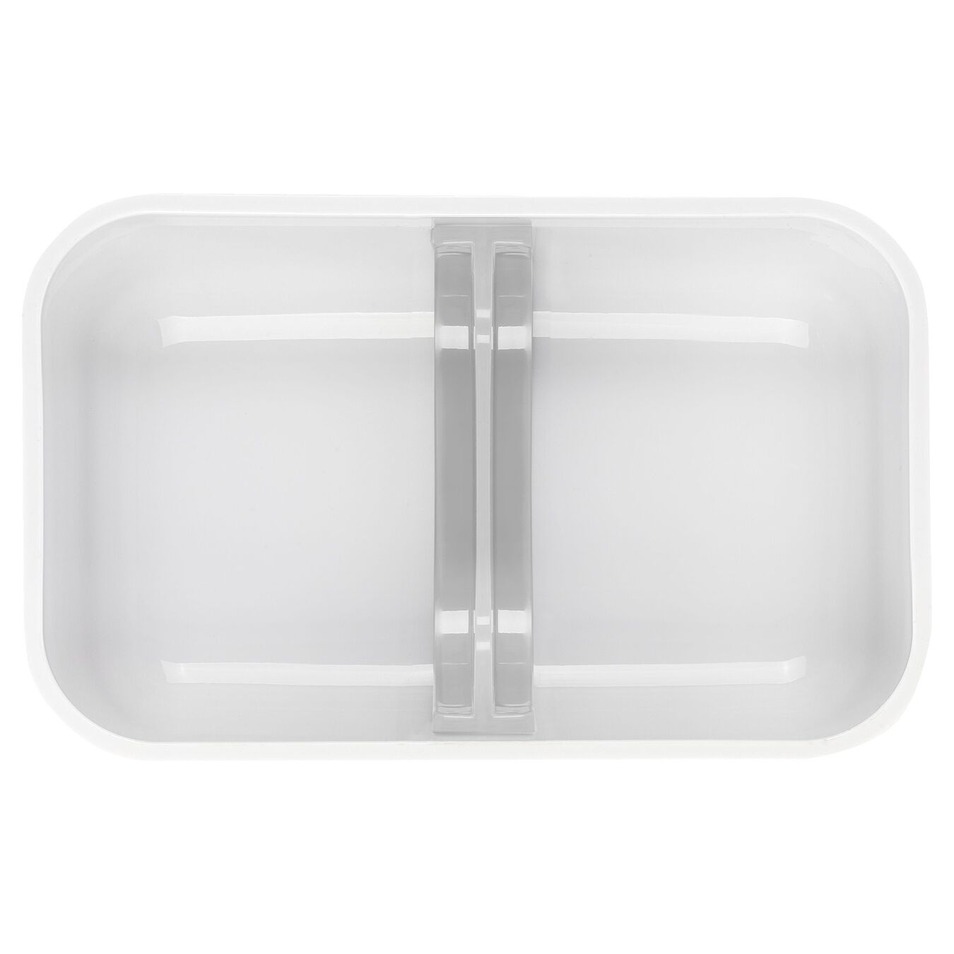 medium Vacuum lunch box, Plastic, white,,large 4