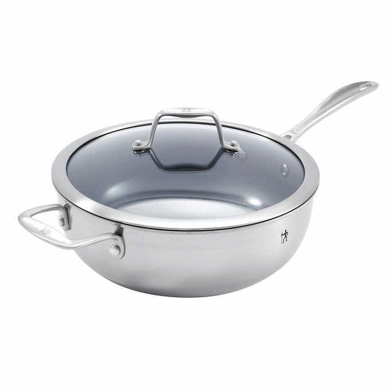 Non-Stick Perfect Pan with lid 4.3QT,,large 1