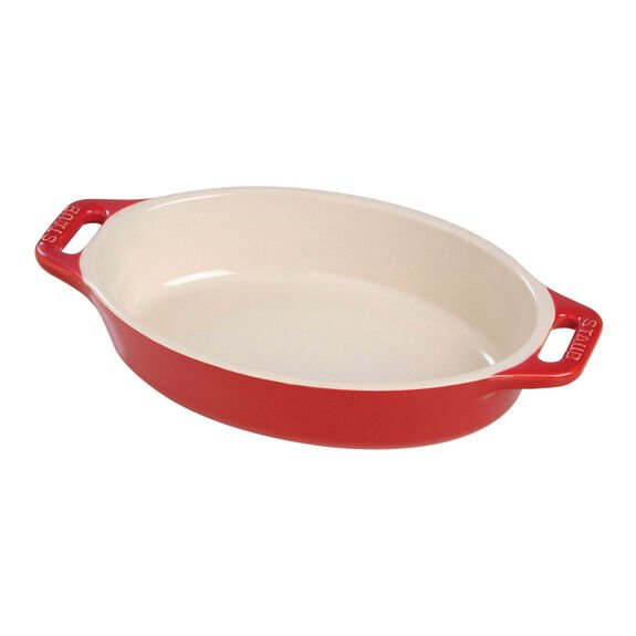 14.5-inch Oval Baking Dish - Cherry,,large
