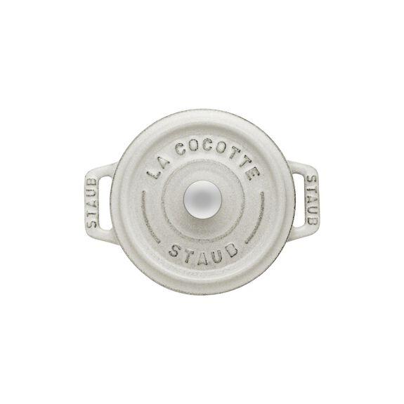 .25-qt Mini Round Cocotte - White Truffle,,large 9