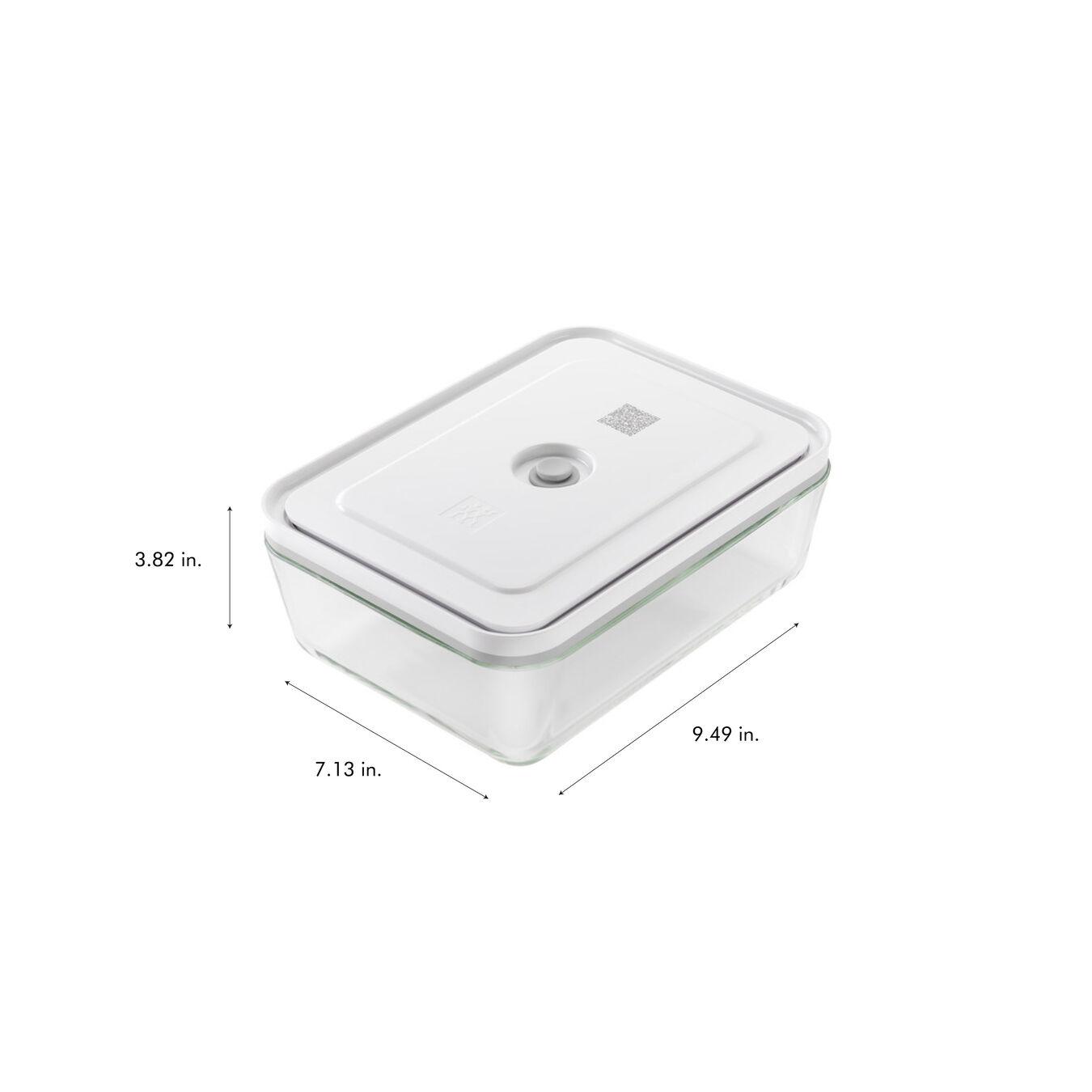 Contenitore sottovuoto per il frigo, vetro,,large 9