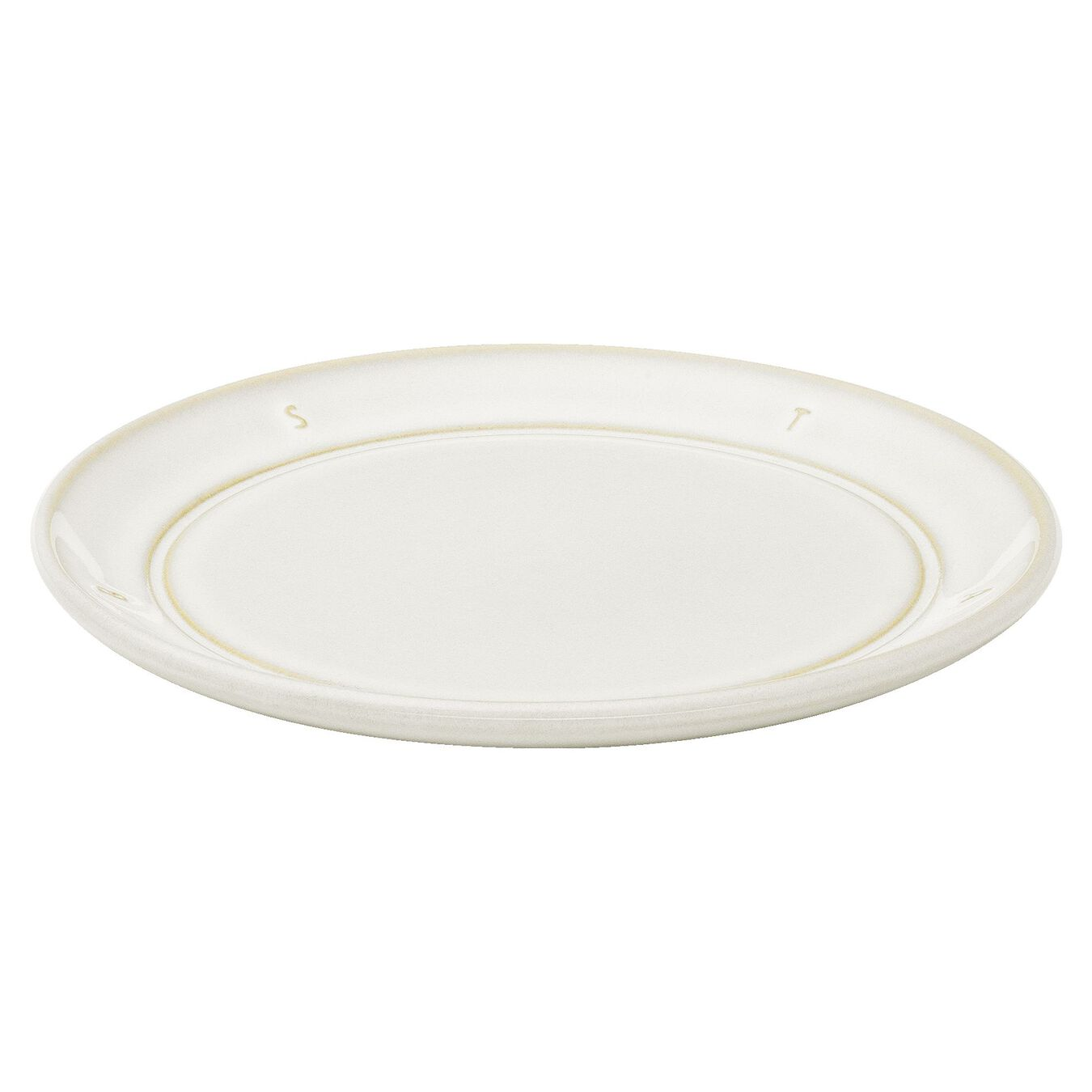 6-inch, Plate, off-white,,large 2