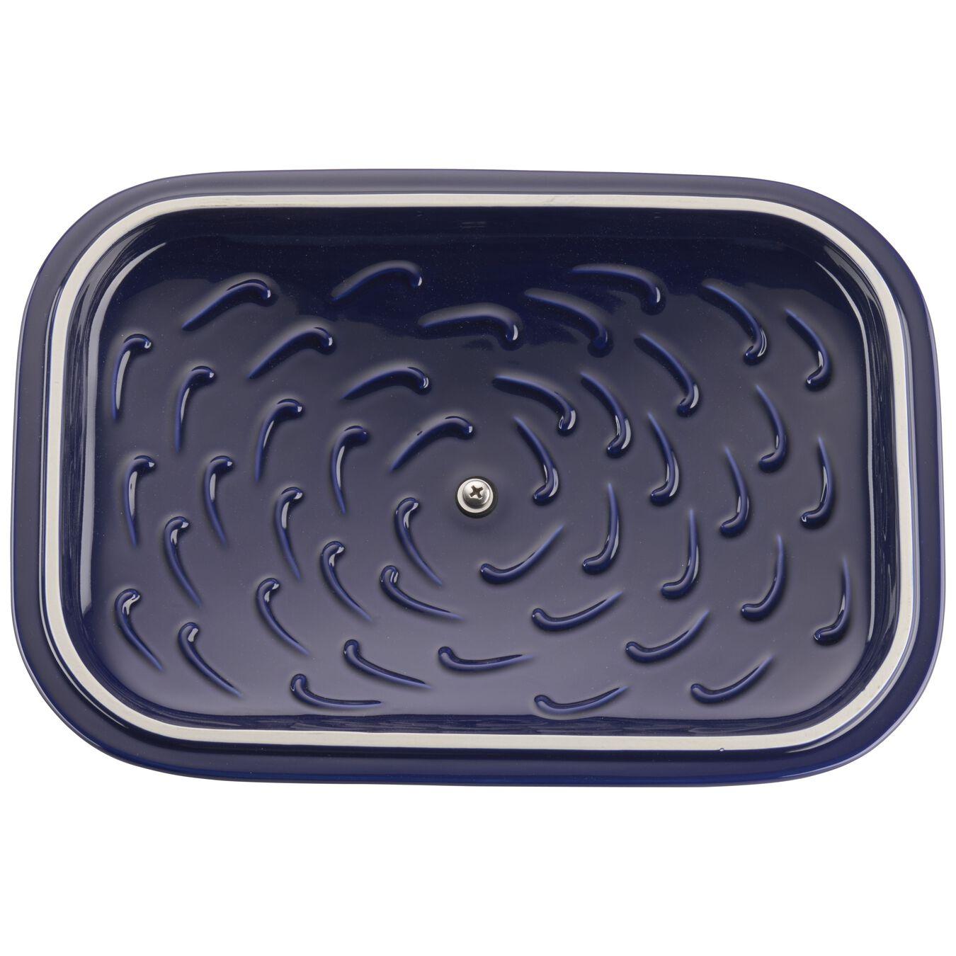 Ceramic rectangular Moules de forme spéciale, Dark-Blue,,large 3