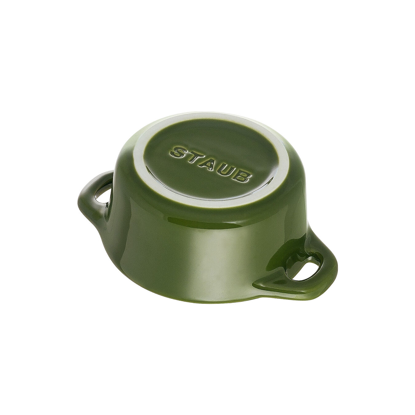 Mini cocotte rotonda - 10 cm, basilico,,large 5