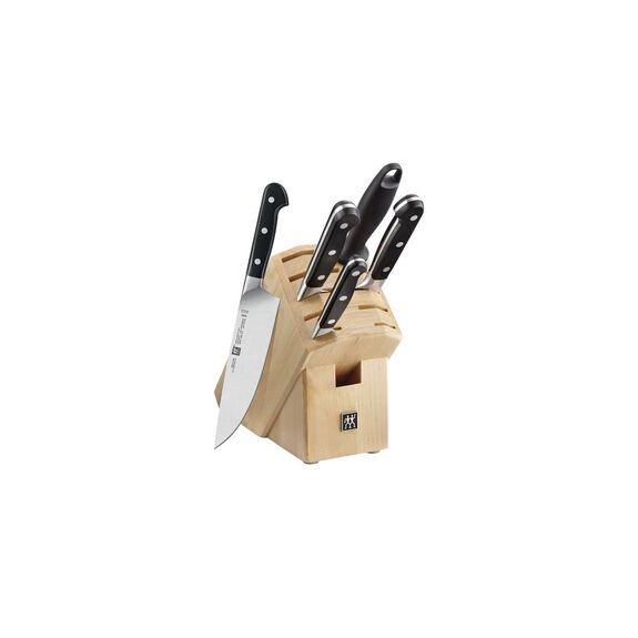 9-Piece Knife block set Wood,,large