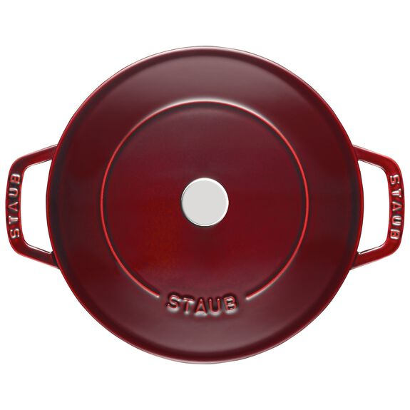 9.5-inch Enamel Saute pan Chistera - Visual Imperfections,,large 2