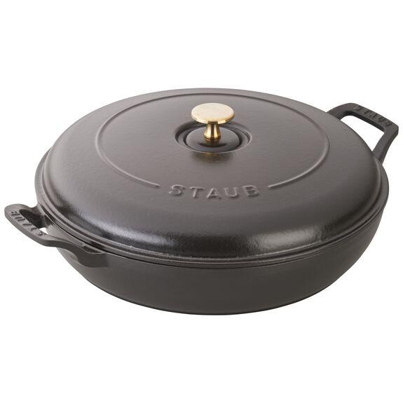 30-x-30-cm-/-12-x-11.81-inch Enamel Saute pan,,large 6