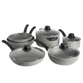 BALLARINI Asti, 10-pcs Aluminum Pots and pans set