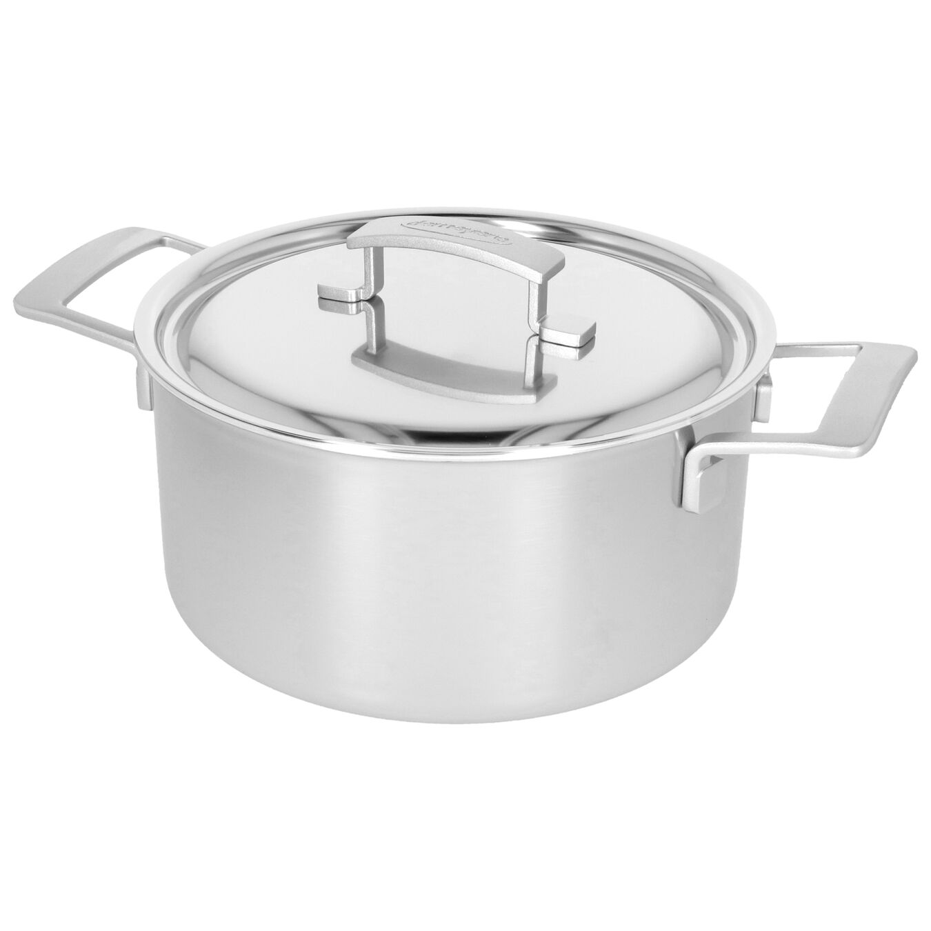 5.5 qt, 18/10 Stainless Steel, Stew pot with lid,,large 2