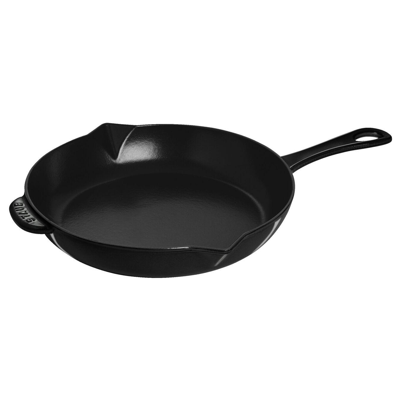 10-inch, Frying pan, shiny black,,large 1