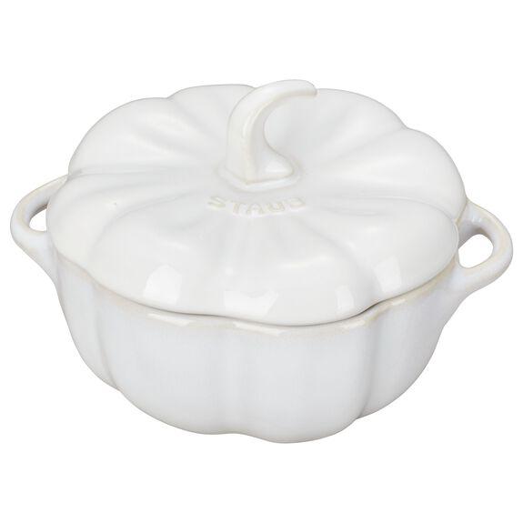 0.5-qt Special shape Cocotte, Ivory,,large