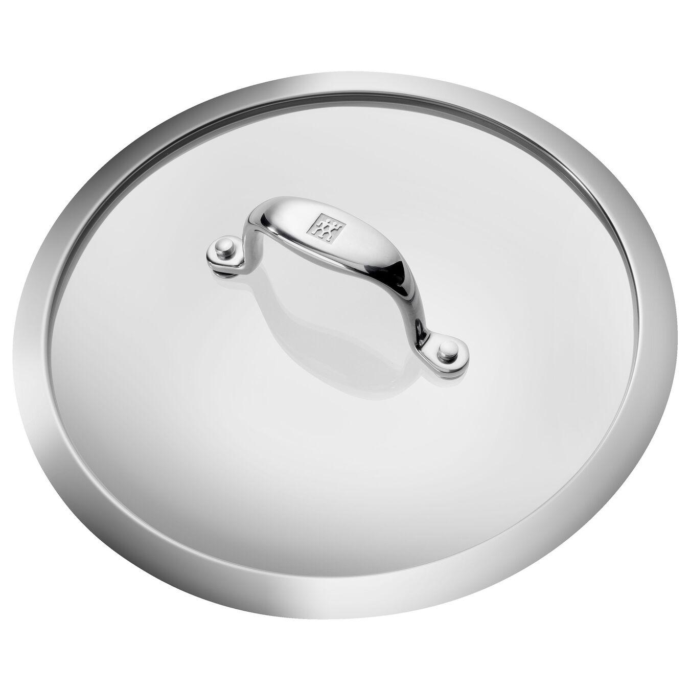 Aluminum round Sauce pan, Silver-Black,,large 6