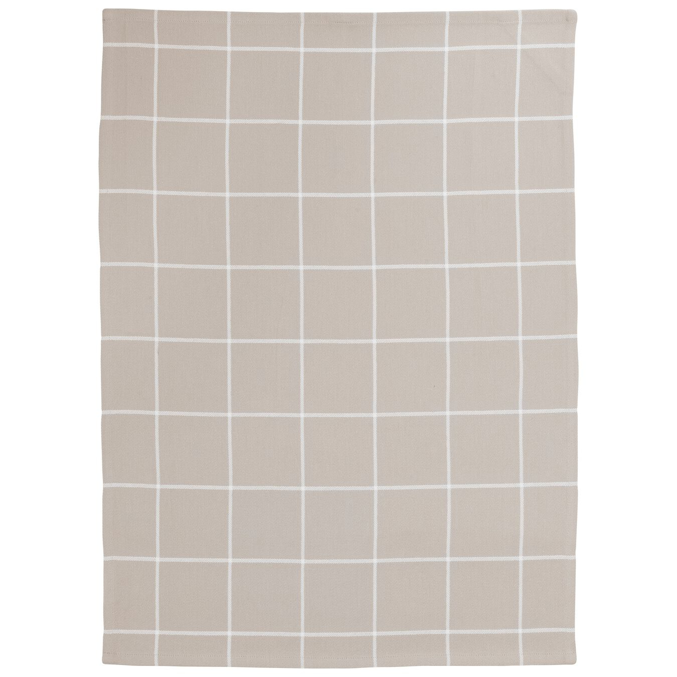 2 Piece 2 Piece Kitchen towel set checkered, taupe,,large 4