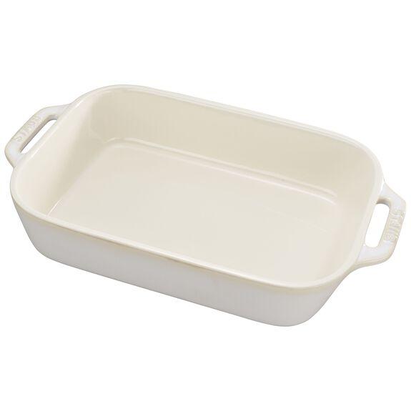 10.5x7.5-inch Rectangular Baking Dish, Rustic Ivory, , large