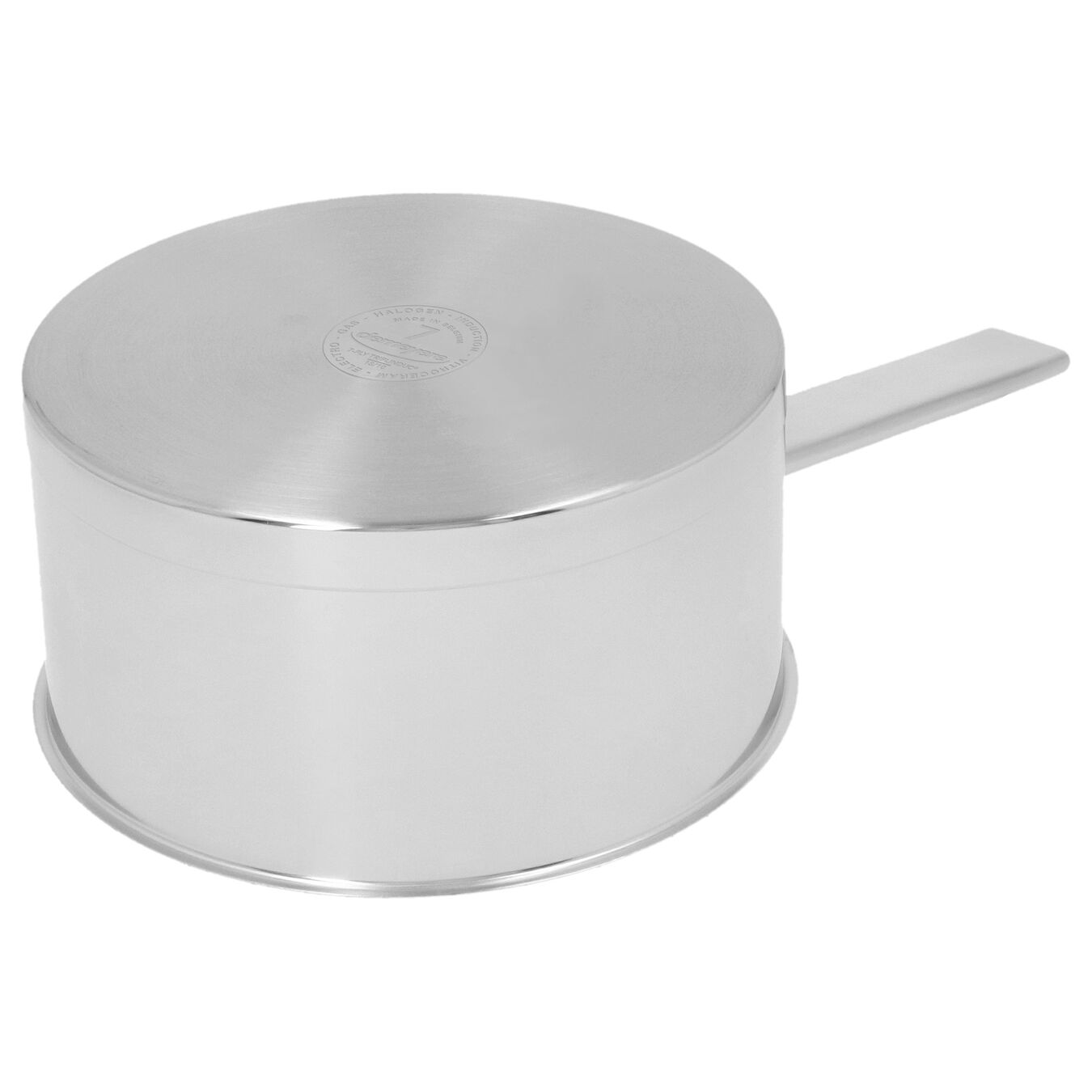 Sos Tenceresi Kapaklı | 18/10 Paslanmaz Çelik | 20 cm | Metalik Gri,,large 2