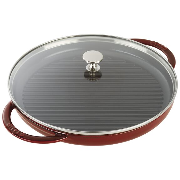 12-inch Round Steam Grill - Grenadine,,large