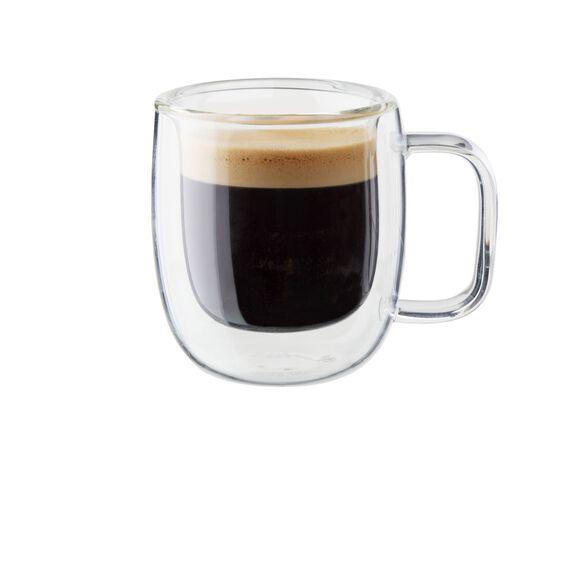 2-pc Double-Wall Glass Espresso Mug Set,,large