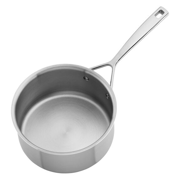 Stainless Steel 3-Qt. Saucepan,,large
