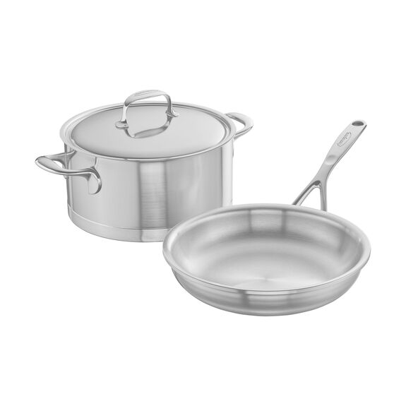 3-pc Stainless Steel Cookware Set,,large