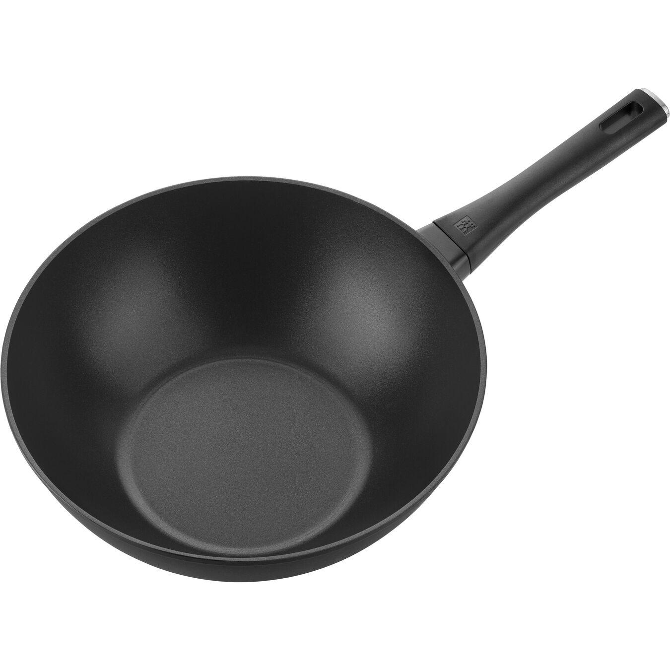 Wok Tava | Alüminyum | Siyah | 30 cm,,large 3