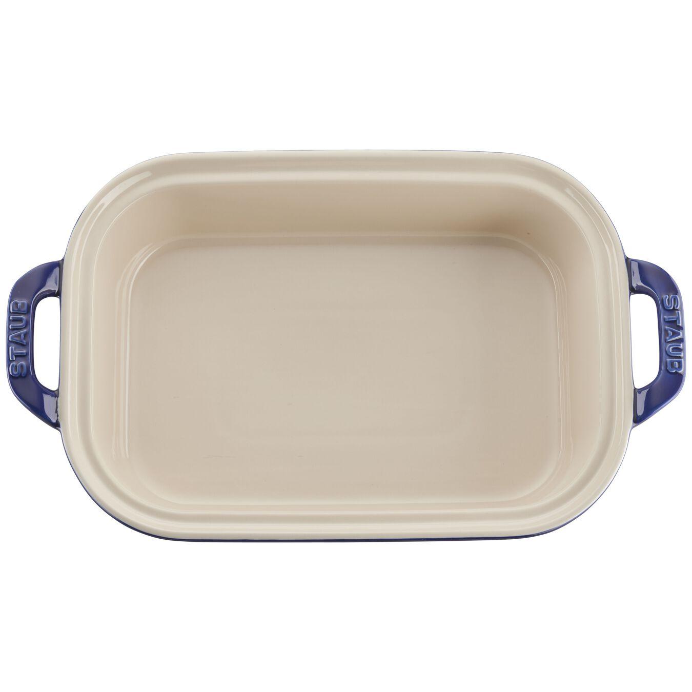 Ceramic rectangular Moules de forme spéciale, Dark-Blue,,large 4