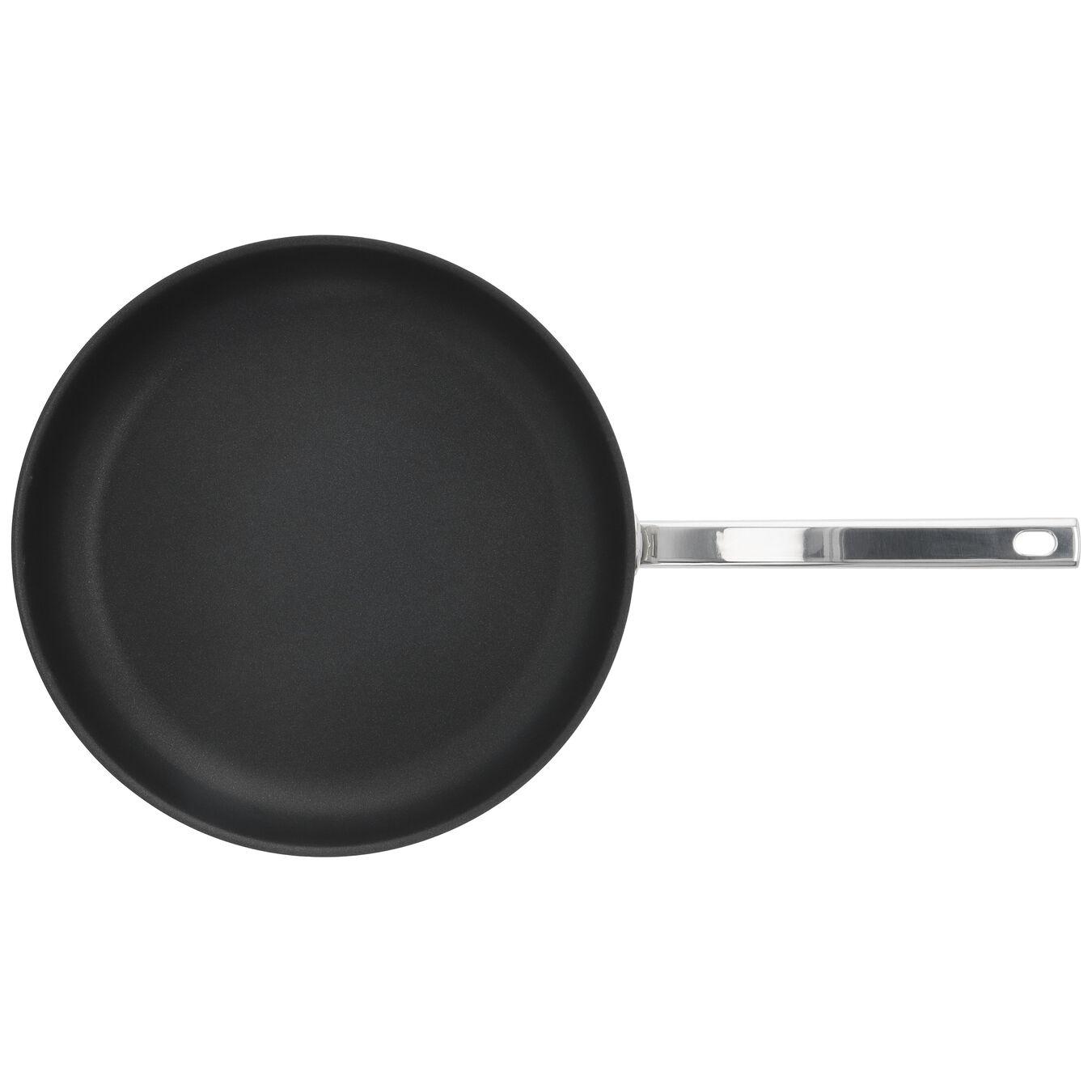 Stekpanna 32 cm, 18/10 Rostfritt stål, Silver-Svart,,large 2