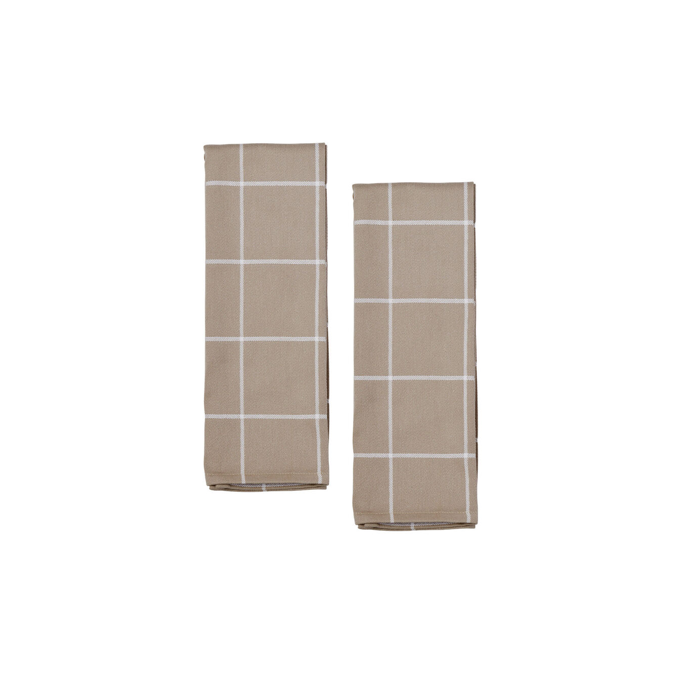 Kitchen towel, taupe,,large 3