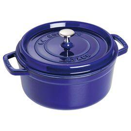 4-qt round Cocotte, Dark Blue