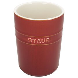 Staub Ceramics, Utensil holder, red