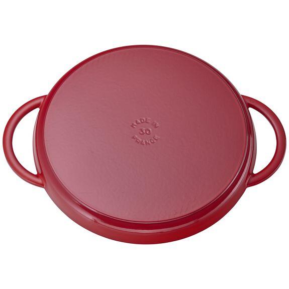 12-inch Chicken al Mattone Griddle & Press Set, Cherry, , large 4