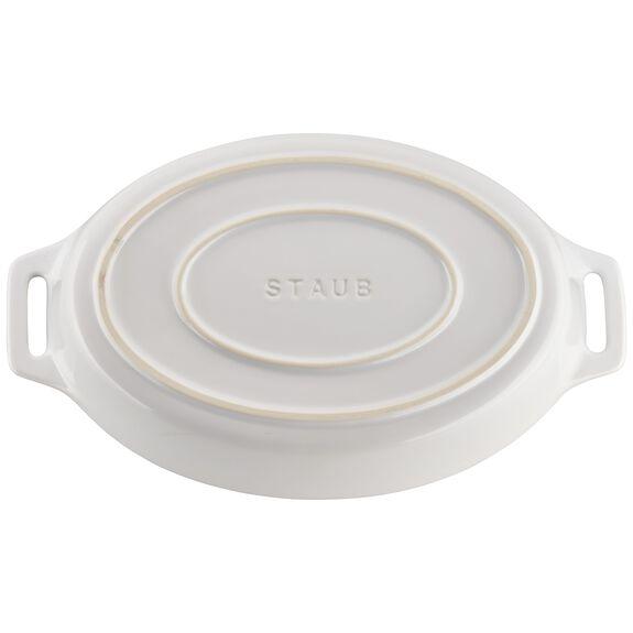 2-pc Oval Baking Dish Set, White, , large 4
